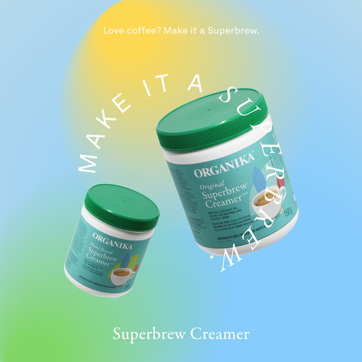 Superbrew creamer with MCT