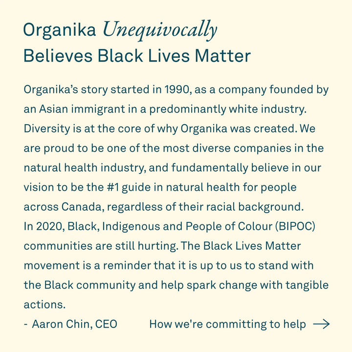 Organika Believes Black Lives Matter