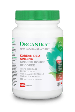 ORG 250cc Ginseng rouge coréen 500mg 100caps 1520 REV12