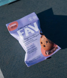 Fäv Collagen Cookie - Chocolate Chip