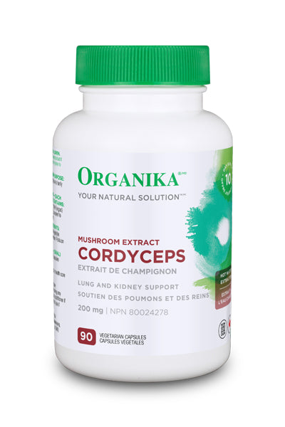ORG 150cc Cordyceps Mushrooms 200mg 90vcaps web