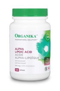 ORG 250cc Alpha Lipoic Acid 250mg 120caps 1187 REV10