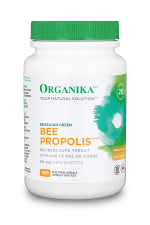 ORG 250cc Brazilian Green Bee Propolis 50mg 180vcaps 2327 REV05