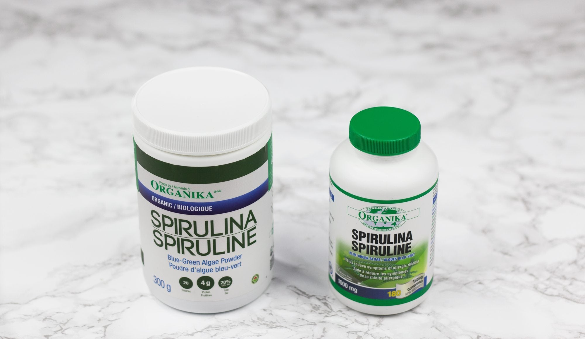 spirulina is one of the foods for allergies