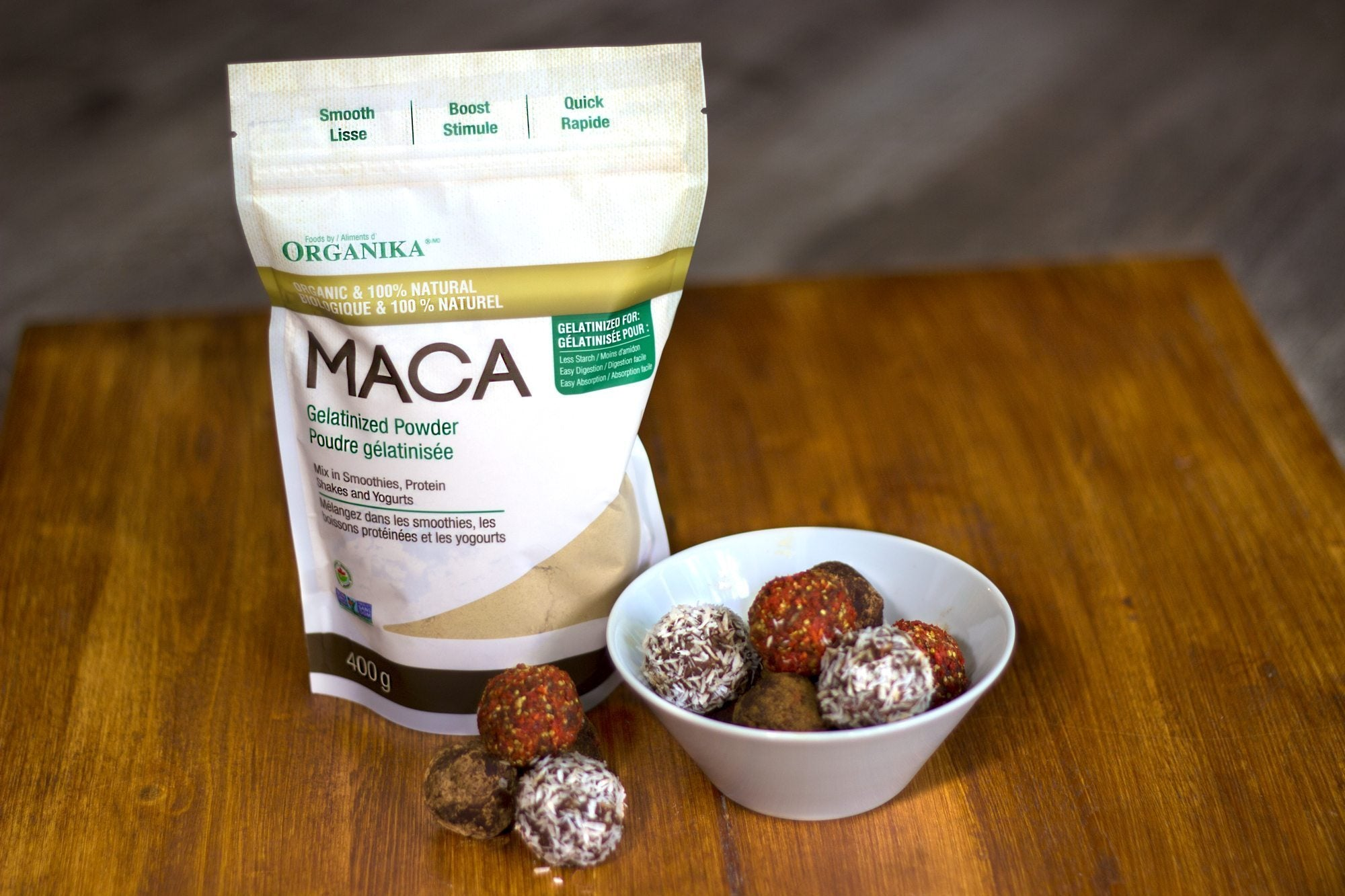 maca balls | best hiking snacks