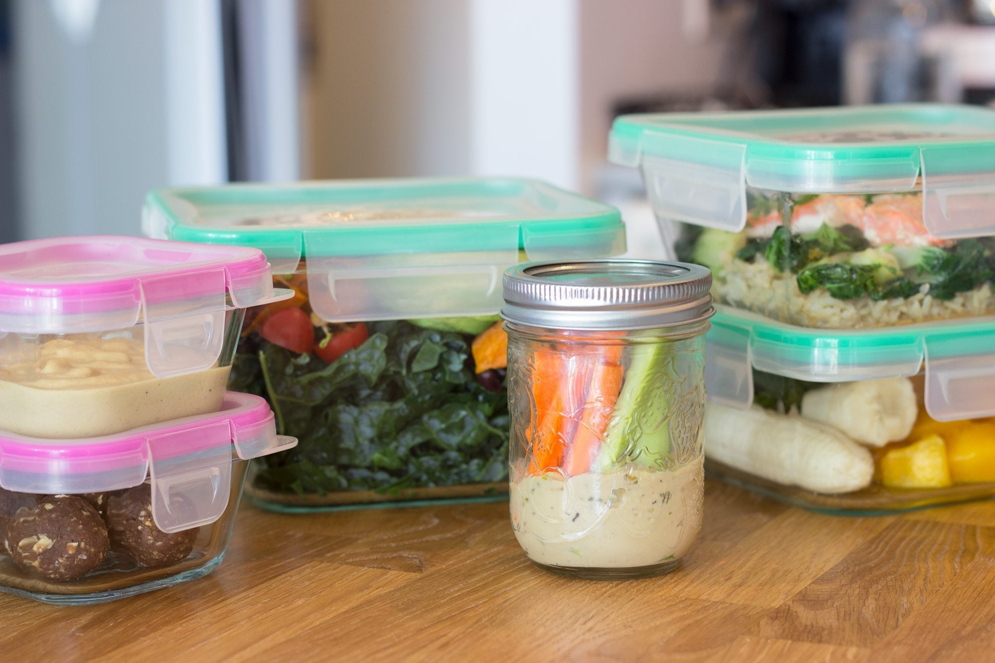 Don't forget to make snacks when meal planning