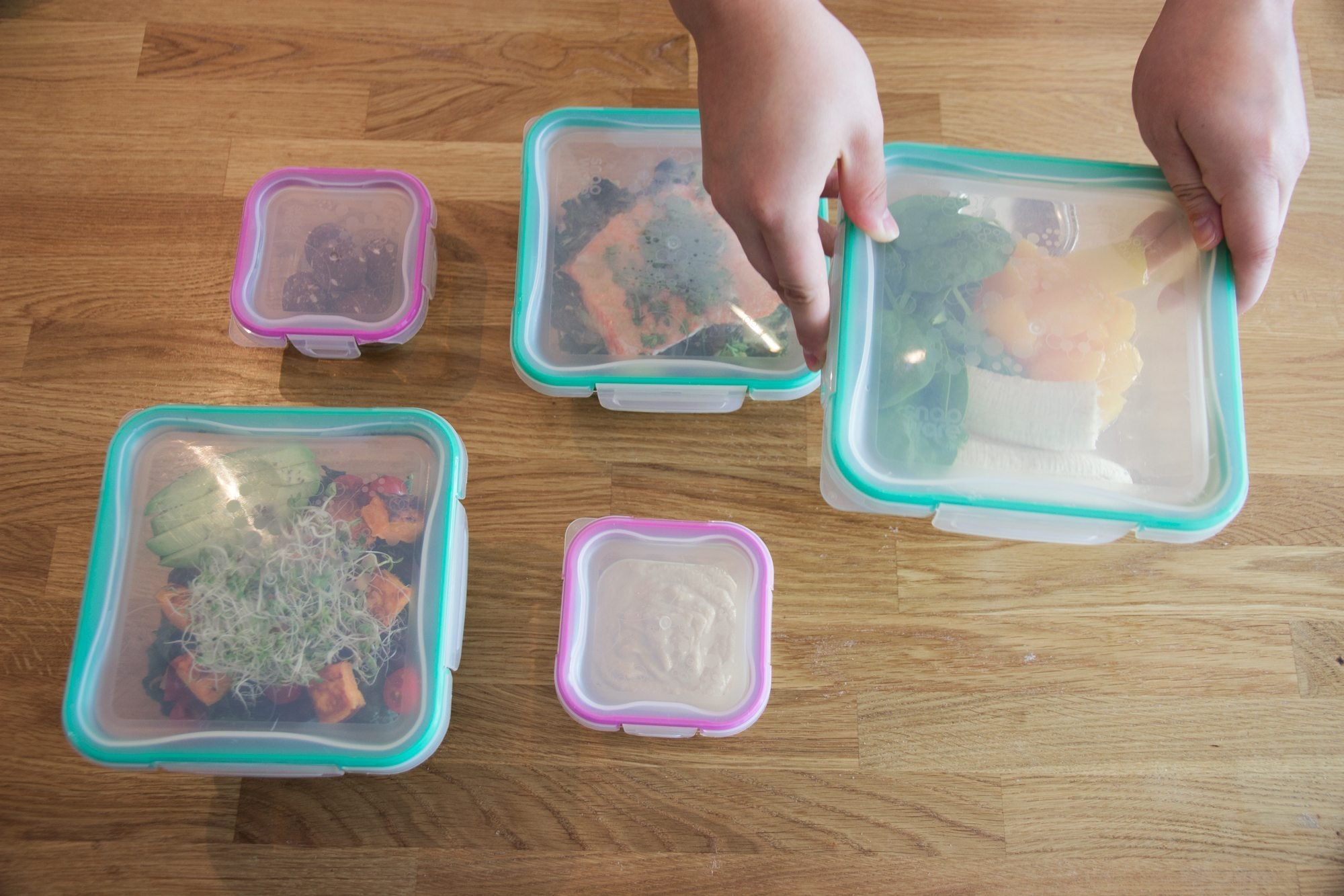 back to school lunches are great to meal prep and store in tupperware