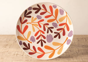 "Fall 10"" Round Dinner Plate Project (set of 2)"