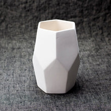 Load image into Gallery viewer, Faceted Vase