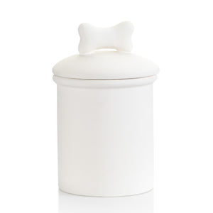 Bow Wow Dog Treat Jar w/Gasket