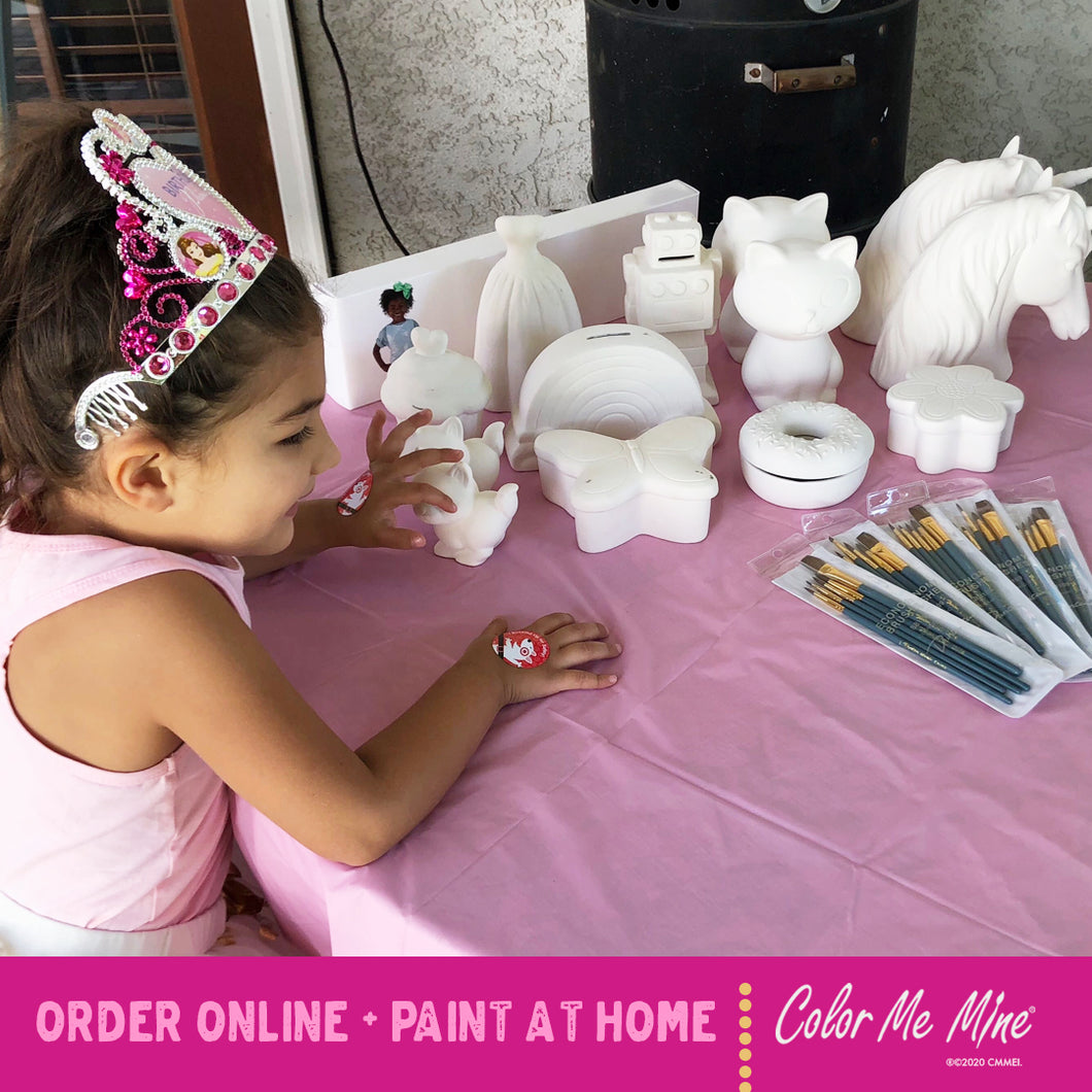 Pottery Painting TO GO Kit