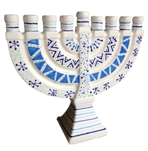 Load image into Gallery viewer, Large Menorah
