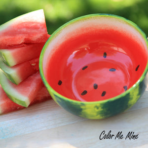 Watermelon bowl Activity