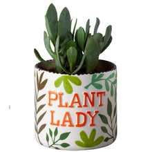 Load image into Gallery viewer, Plant Lady Planter