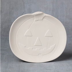 Large Pumpkin Plate