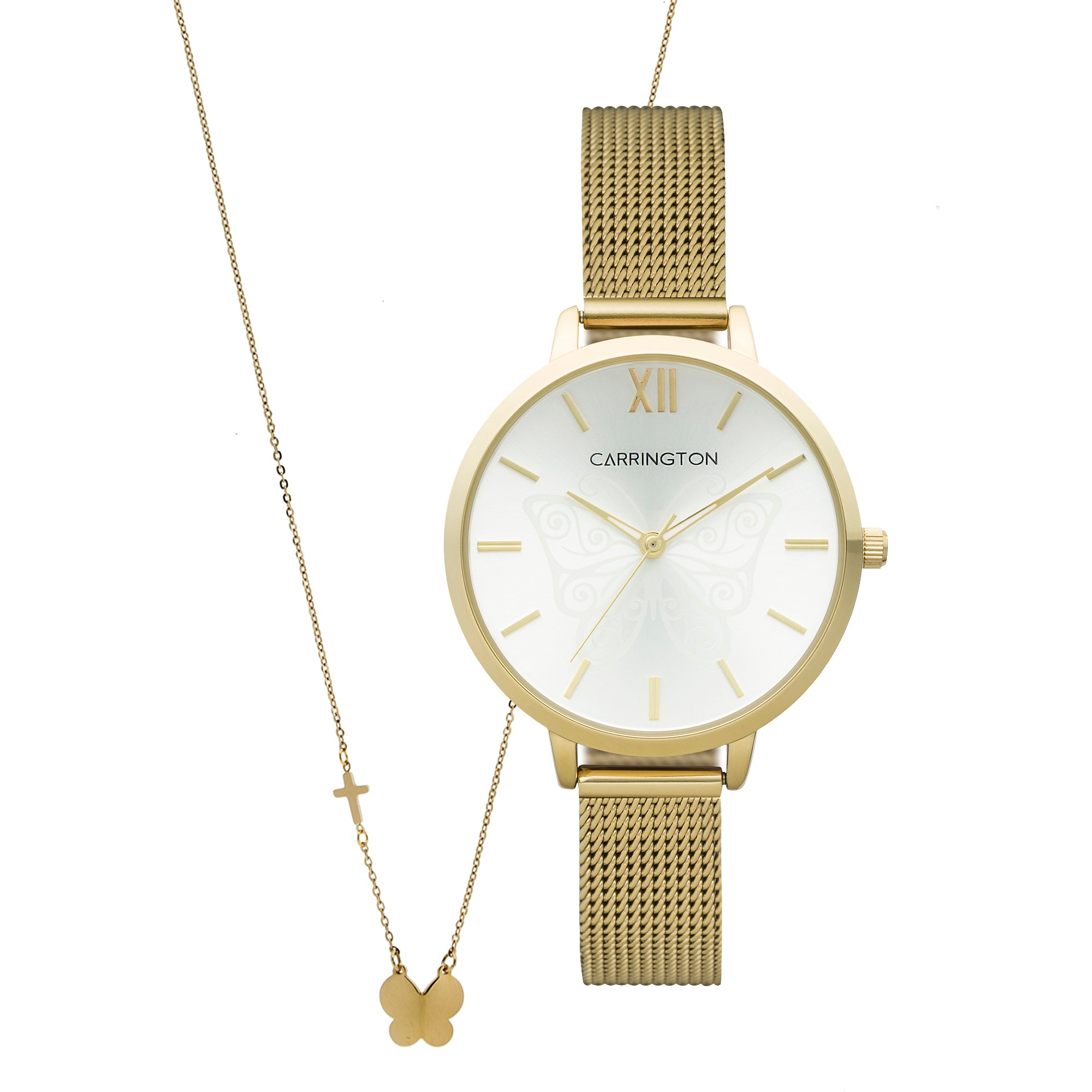 Clementine Set<br>Watch + Necklace