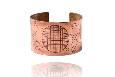 Etched Cuff Bracelet Workshop// August 21st