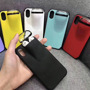 2 In 1 Phone Case Earphone Storage Box