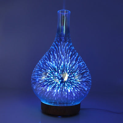 LED Night Light Aroma Essential Oil