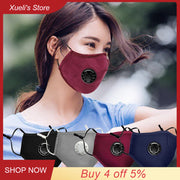 Anti Dust Masks Mouth Cover Pm2.5 Reusable Dustproof Mouth Face Mask Windproof Foggy Haze Pollution Respirator Mascaras|Women's Masks