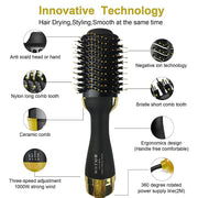 Hot Air Paddle Styling Brush