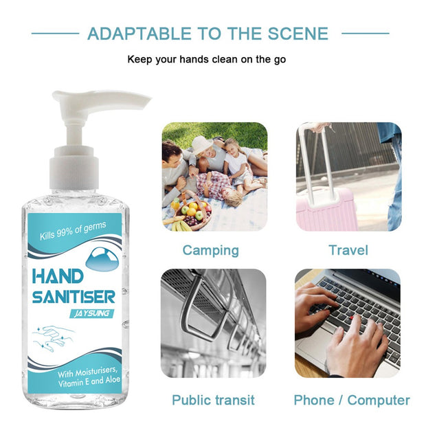 Portable Germicidal Hand Sanitizer No Wash Quick Drying