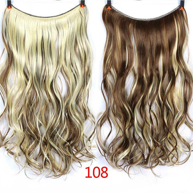 Invisible Wire No Clips In Hair Extensions