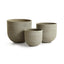 Concretelite Jesse Pots, Set Of 3
