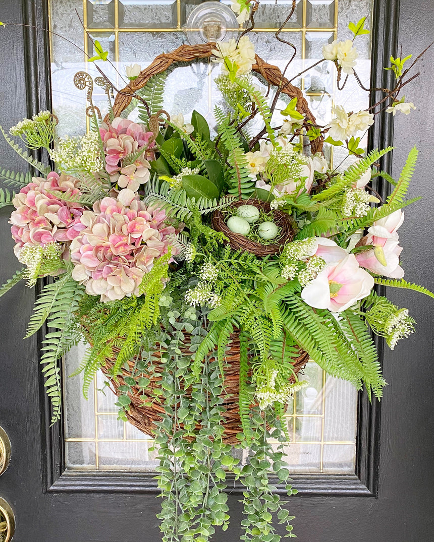Large Custom Designed Door Basket