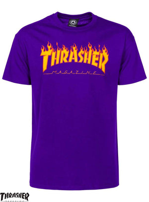 Ouvrir l'image dans le diaporama, THRASHER TEE FLAME