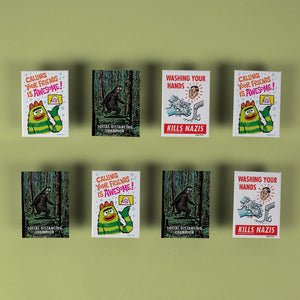 Parker Jacobs - Assorted Set of 8 Fridge Magnets