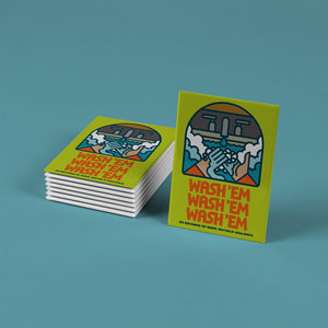 Aaron James Draplin - Set of 8 Fridge Magnets
