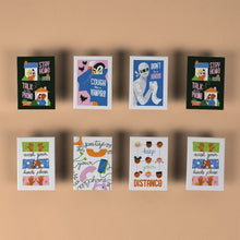 Load image into Gallery viewer, Ellen Surrey - Set of 8 Fridge Magnets
