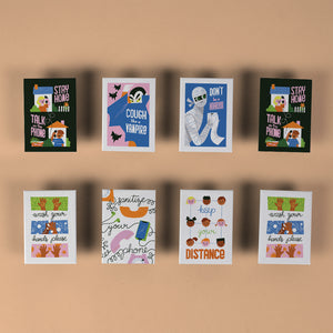 Ellen Surrey - Set of 8 Fridge Magnets