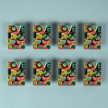 Load image into Gallery viewer, Jeff Granito - Set of 8 Fridge Magnets