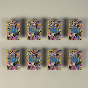 Mel Cerri - Set of 8 Fridge Magnets