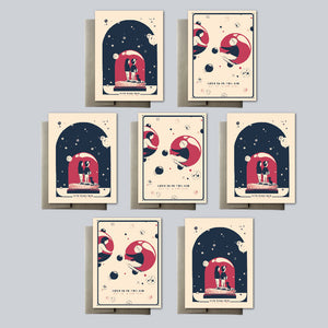Alex Hanke - Greeting Card Set of 15