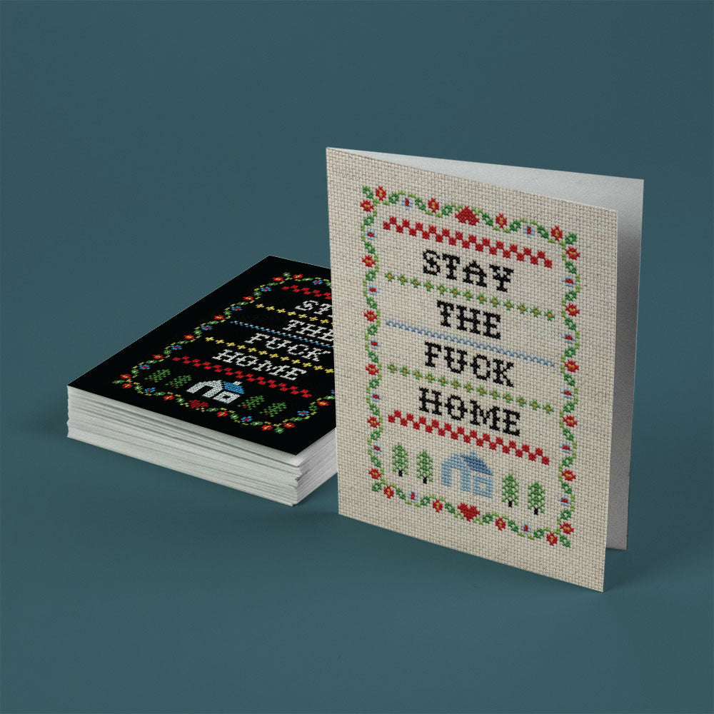 Subversive Cross Stitch - Greeting Card Set of 15