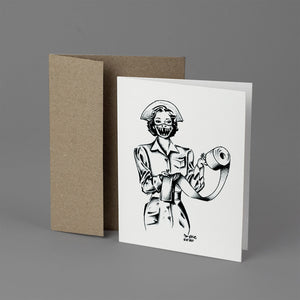 Dave Warshaw - Greeting Card Set of 15