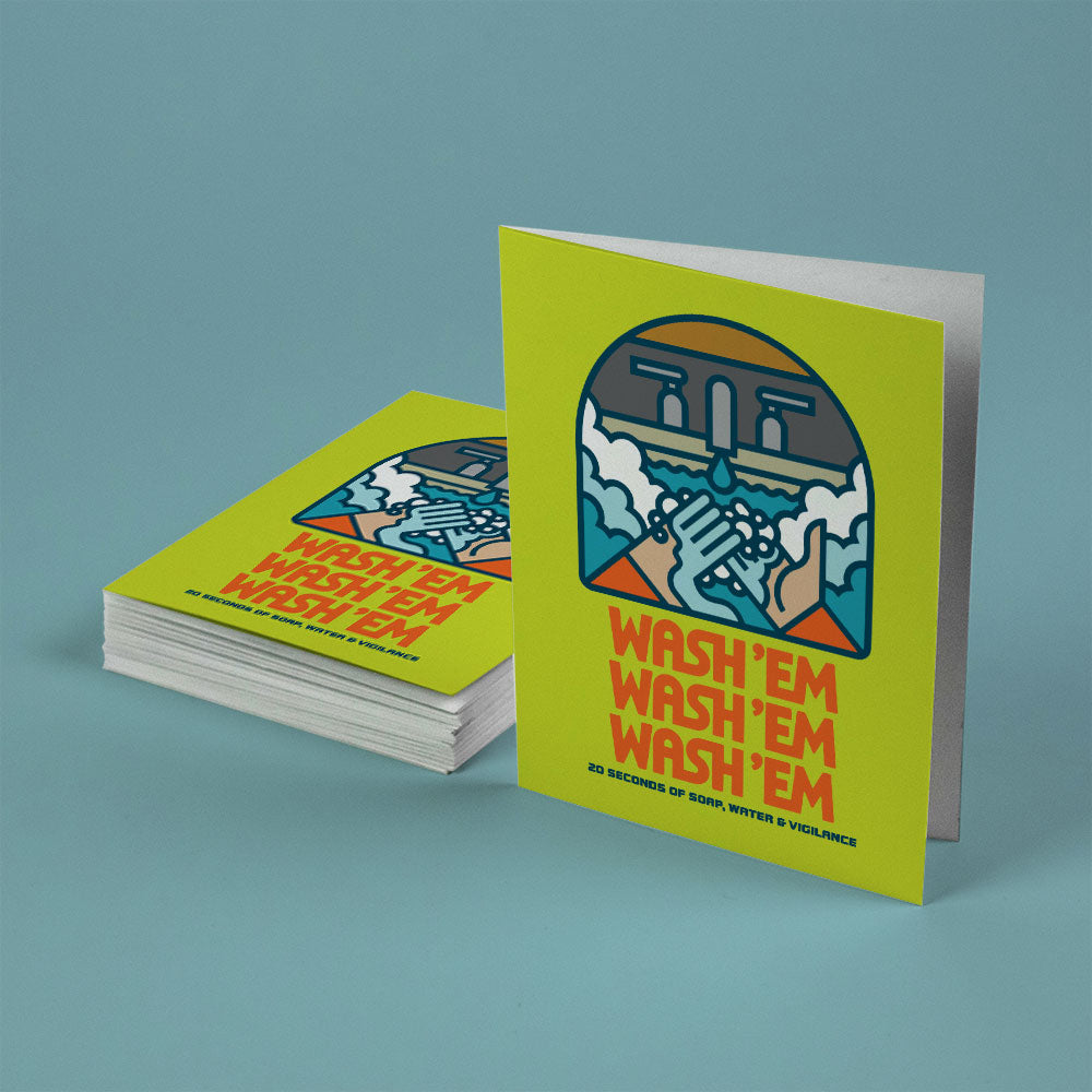Aaron James Draplin - Greeting Card Set of 15