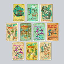 Load image into Gallery viewer, Tiki Tony - Assorted Set of 10 Posters
