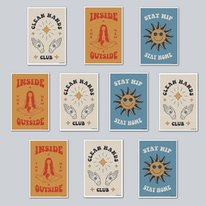 Ulysses Design Co - Assorted Set of 10 Posters