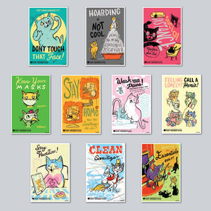 Elena Fox - Assorted Set of 10 Posters