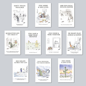 Graham Annable - Assorted Set of 10 Posters