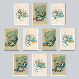 Ruttu - Assorted Set of 10 Posters