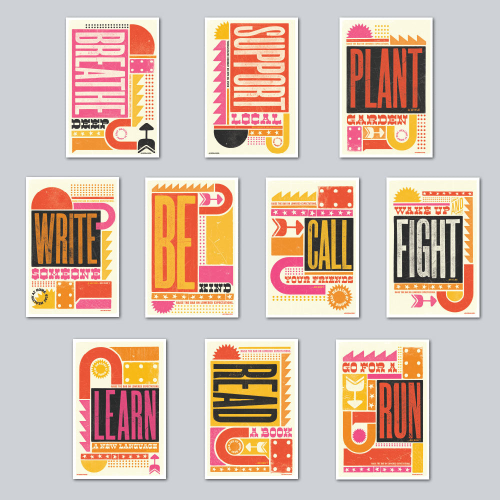 Brad Vetter - Assorted Set of 10 Posters