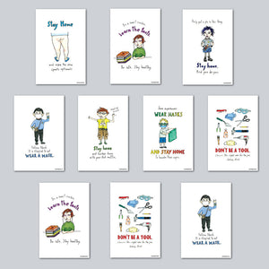 Therese Buchmiller - Assorted Set of 10 Posters