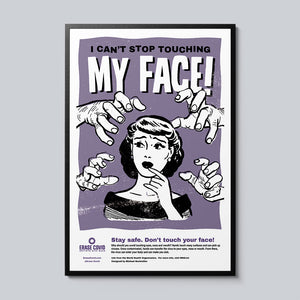 My Face - Set of 10 Posters