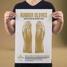 Load image into Gallery viewer, Rubber Gloves - Set of 10 Posters