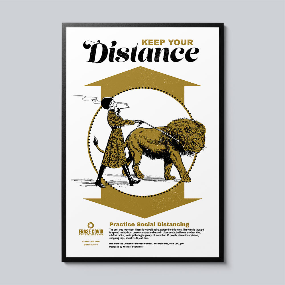 Keep Your Distance - Set of 10 Posters
